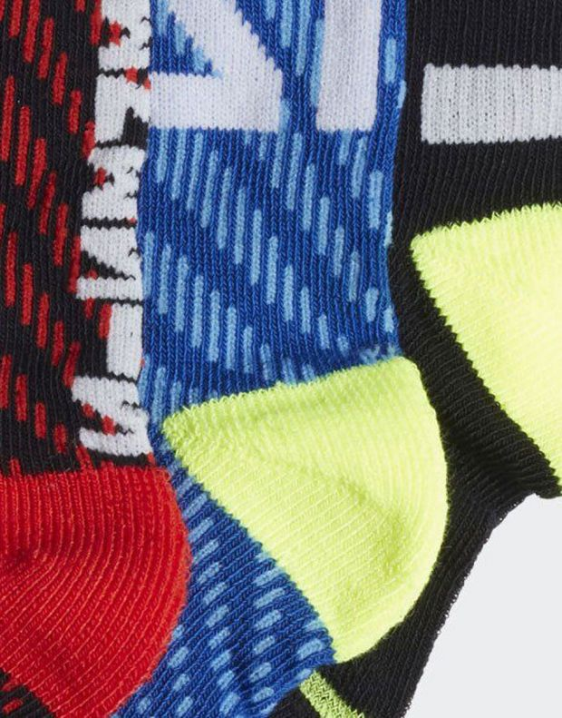 ADIDAS 3 Pack Messi Socks BRB - EC2477 - 2