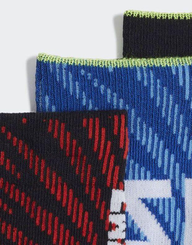 ADIDAS 3 Pack Messi Socks BRB - EC2477 - 3