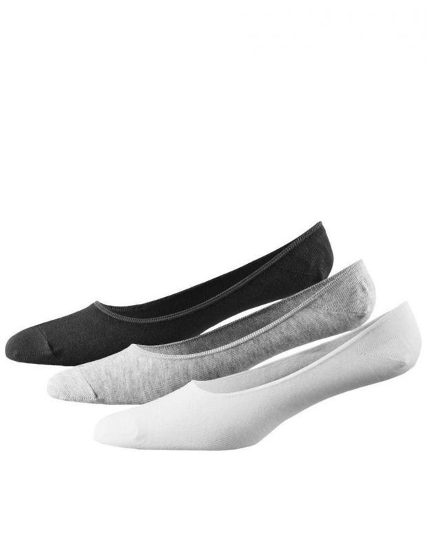 ADIDAS 3 Pack Performance Invisible Thin Socks BWG - AA2303 - 1