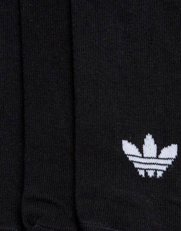 ADIDAS 3 Pairs Trefoil Liner Socks Black - S20274 - 2