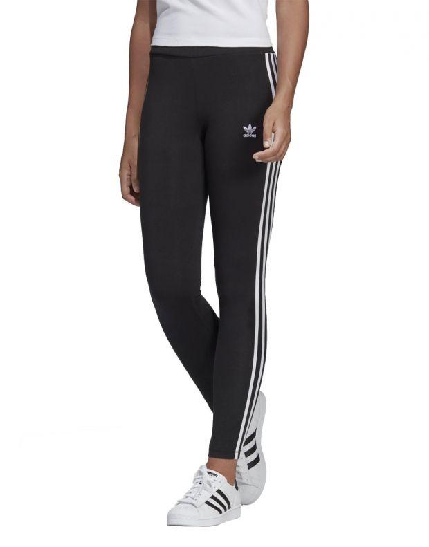ADIDAS 3-Stripes Leggings Black - 1