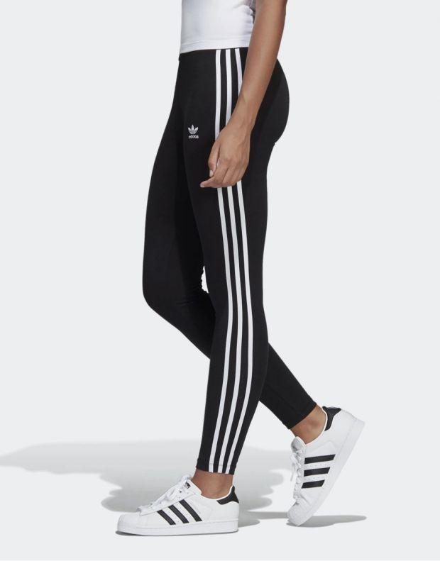 ADIDAS 3-Stripes Leggings Black - 3