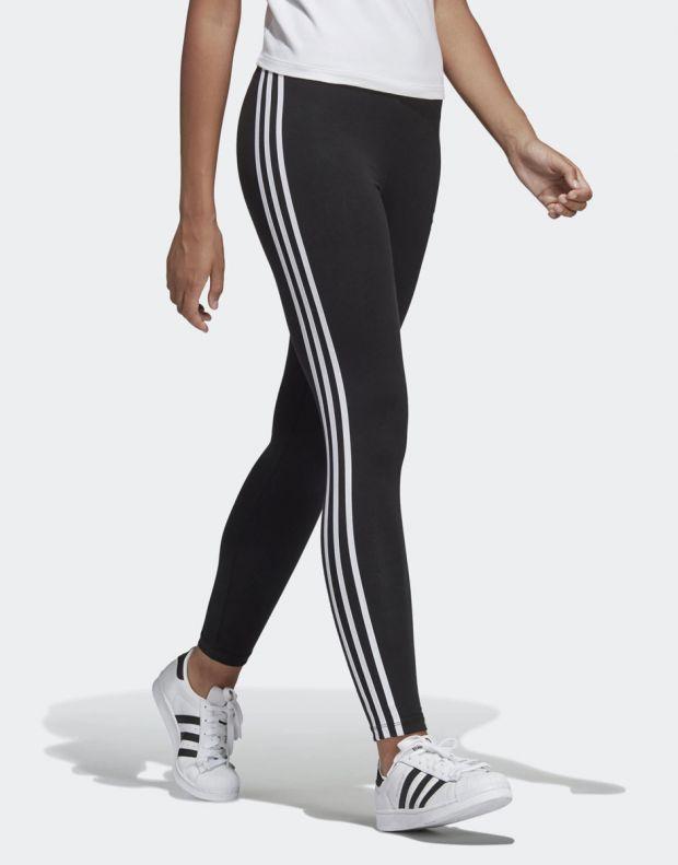ADIDAS 3-Stripes Leggings Black - 4