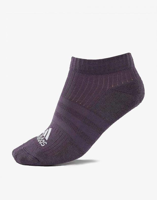 ADIDAS 3 Stripes Logo Socks 3 Pairs Pink - CF7344 - 4