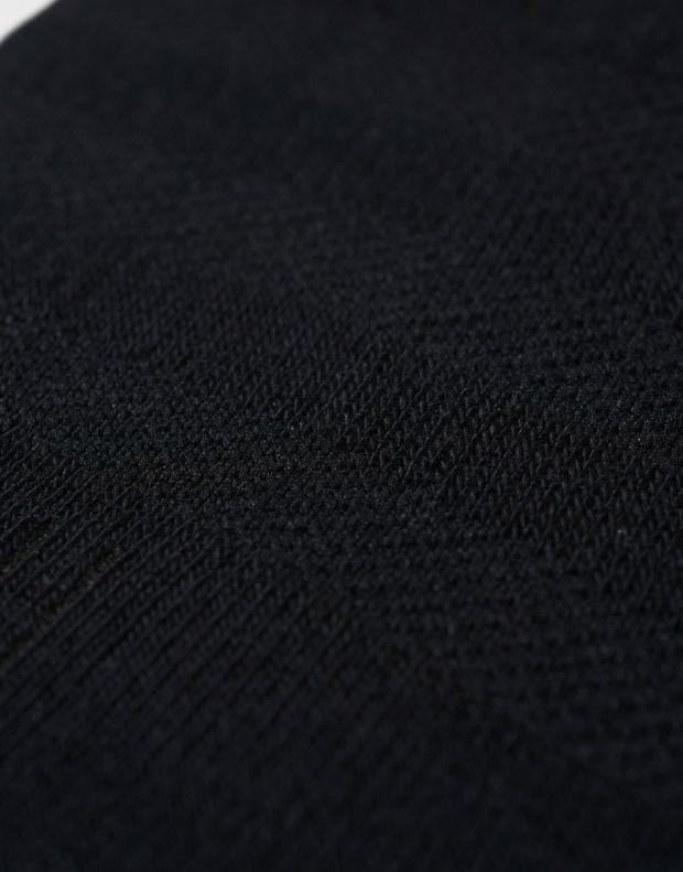 ADIDAS 3 Stripes No-Show Socks 3 Pairs Black - AA2280 - 3