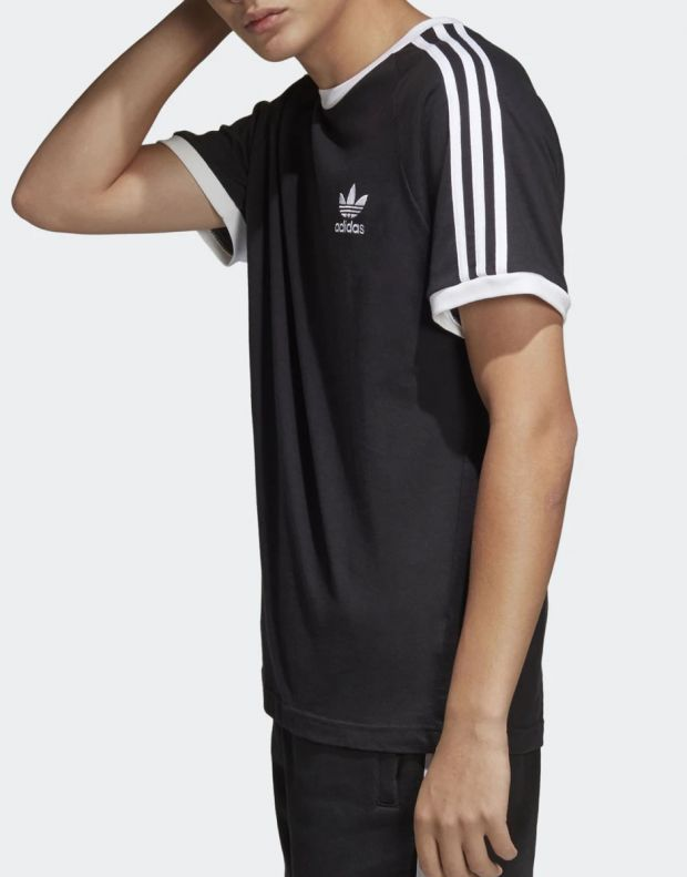 ADIDAS 3-Stripes Tee Black - 3