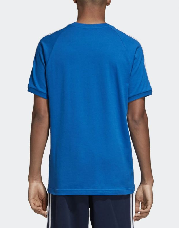 ADIDAS Originals 3-Stripes Tee Blue - 2