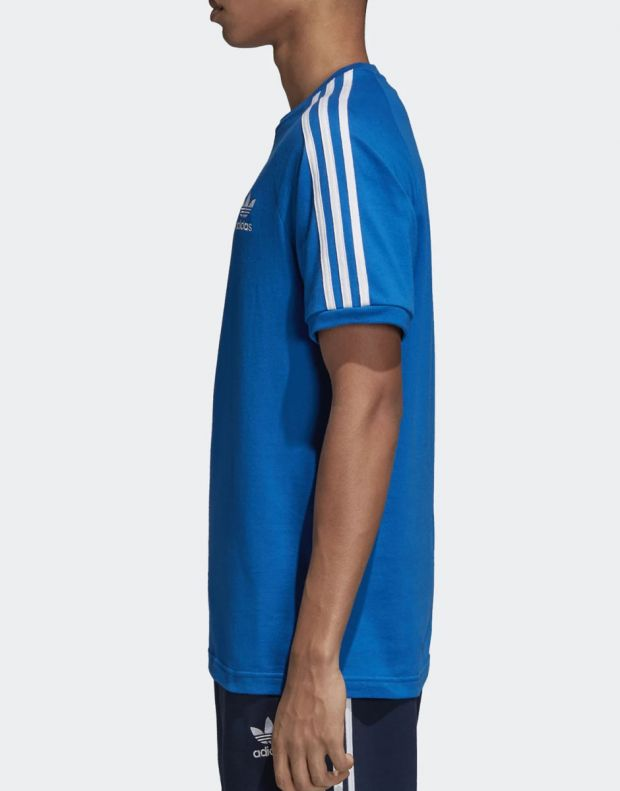 ADIDAS Originals 3-Stripes Tee Blue - DH5805 - 3