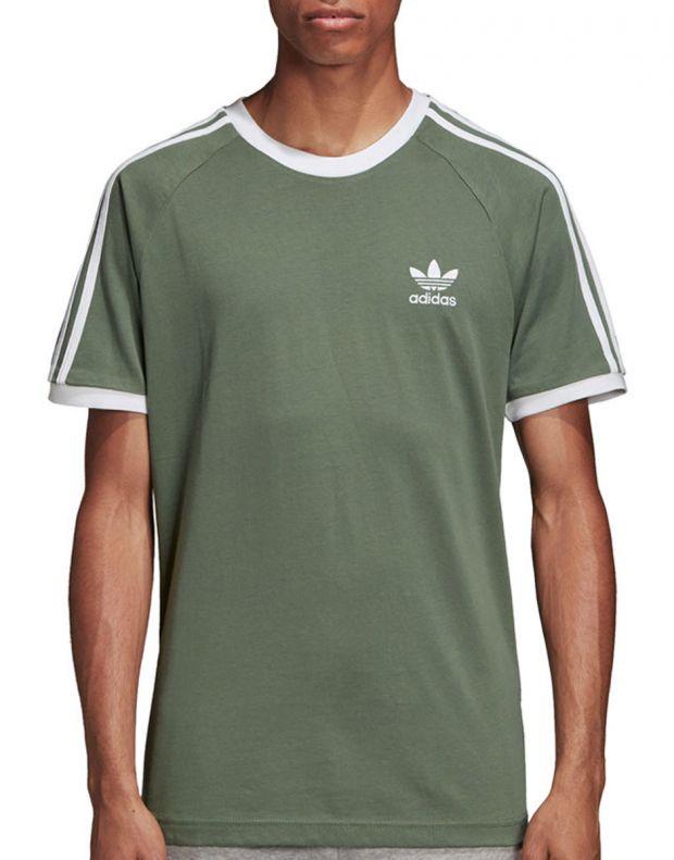 ADIDAS 3-Stripes Tee Green - DV2553 - 1
