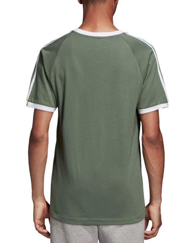 ADIDAS 3-Stripes Tee Green - DV2553 - 2