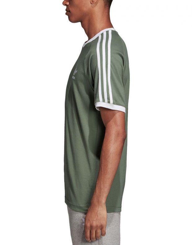 ADIDAS 3-Stripes Tee Green - DV2553 - 3