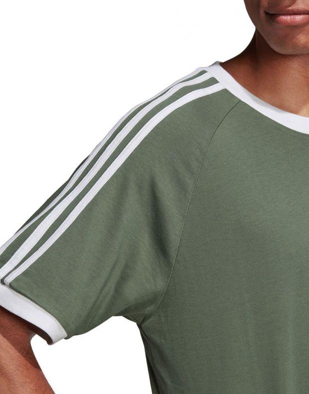 ADIDAS 3-Stripes Tee Green - DV2553 - 4