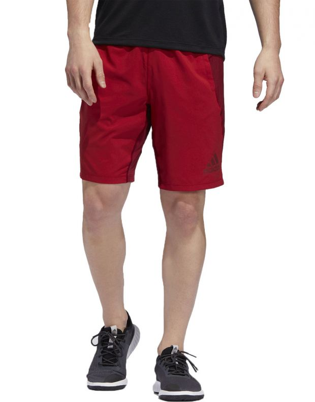 ADIDAS 4KRFT Woven 10-inch Shorts Red - EB7914 - 1