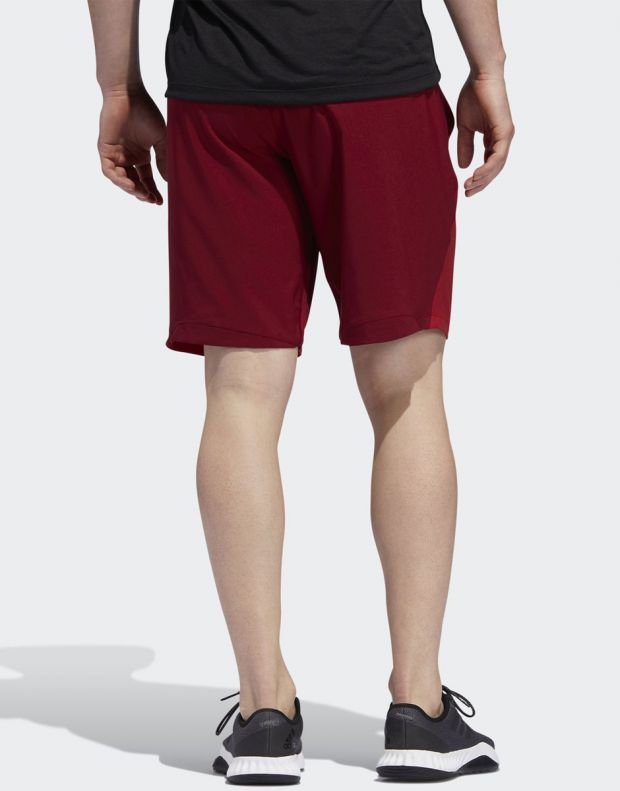 ADIDAS 4KRFT Woven 10-inch Shorts Red - EB7914 - 2