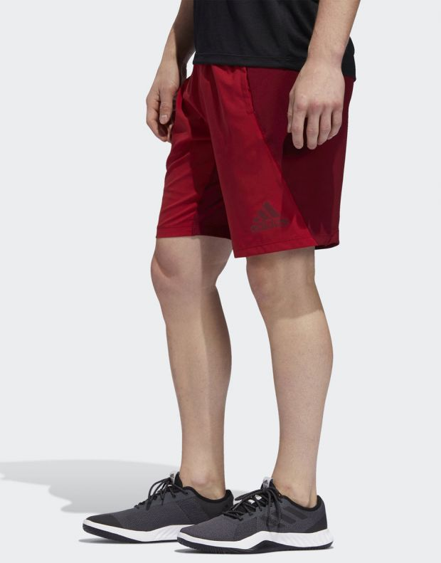 ADIDAS 4KRFT Woven 10-inch Shorts Red - EB7914 - 3