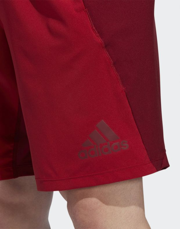 ADIDAS 4KRFT Woven 10-inch Shorts Red - EB7914 - 6