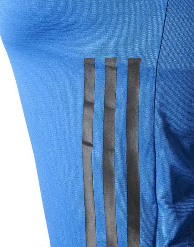 ADIDAS Adizero Short Sleeve Tee Blue - BQ7616 - 5