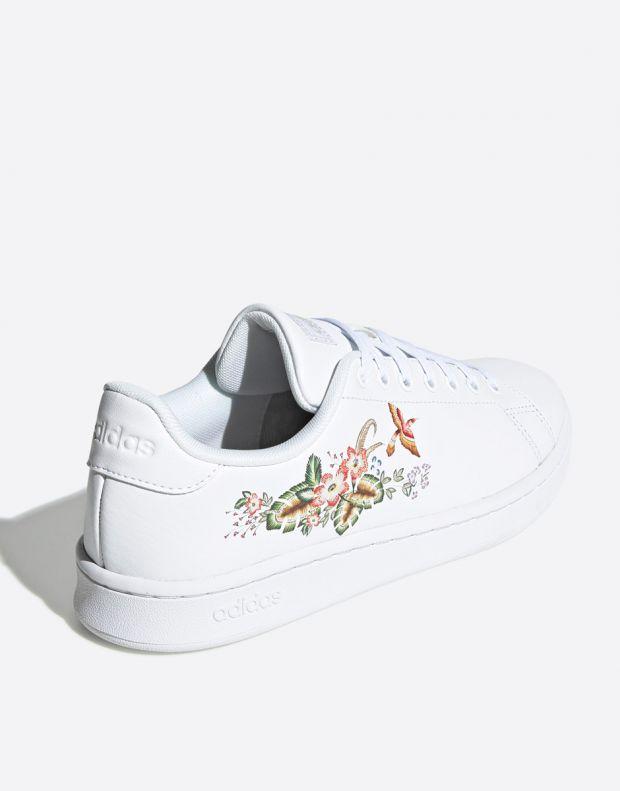 ADIDAS Advantage Flower White - EF0135 - 4
