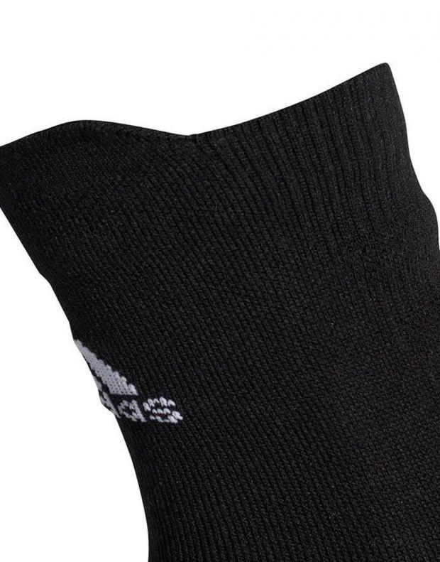 ADIDAS Alphaskin Cushioning Crew Sock Black - CV7428 - 2