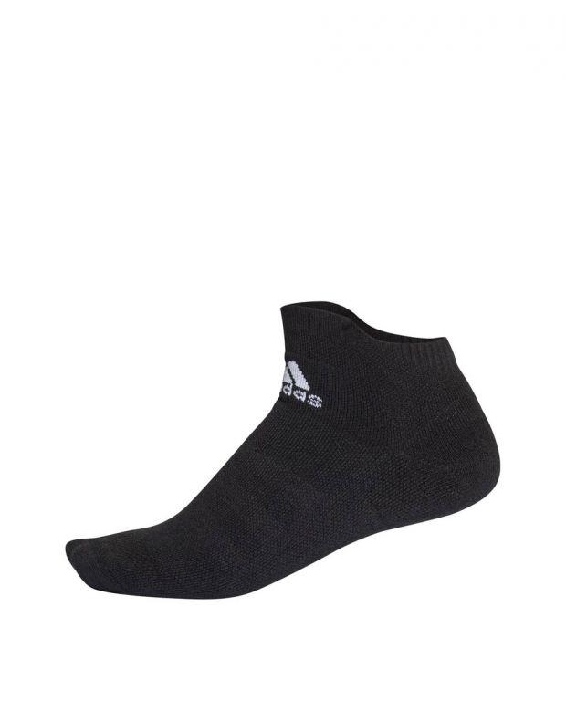 ADIDAS Alphaskin Maximum Cushioning Ankle Socks Black - CV7595 - 1
