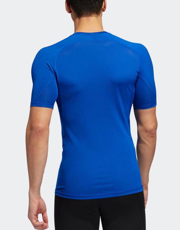 ADIDAS Alphaskin Sport Tee Royal Blue - EB9383 - 2