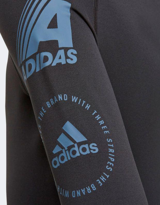 ADIDAS Alphaskin Sport Warm Black - ED6353 - 5