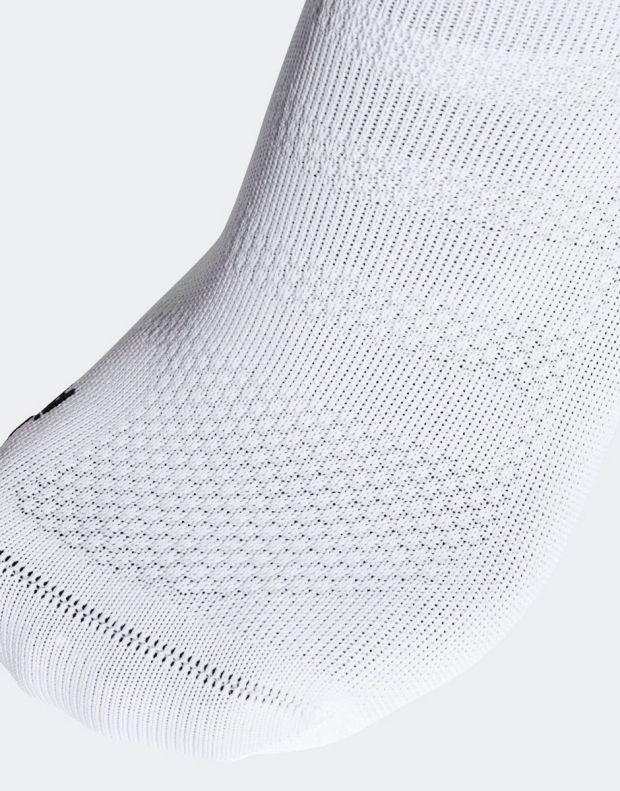 ADIDAS Alphaskin Ultralight Ankle Socks White - CV8862 - 4