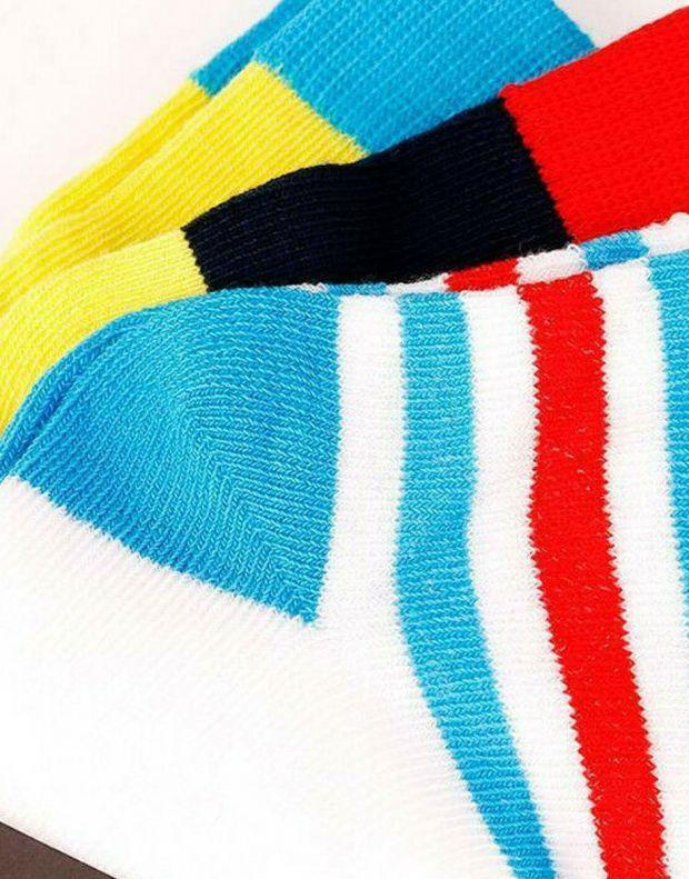 ADIDAS Ancle Socks 3 Pairs Yellow - DW4756 - 2