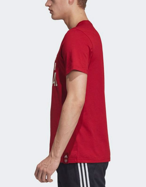 ADIDAS Arsenal DNA Graphic Tee Red - EH5621 - 3