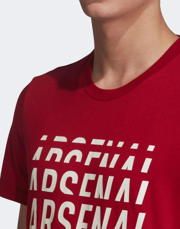 ADIDAS Arsenal DNA Graphic Tee Red - EH5621 - 5