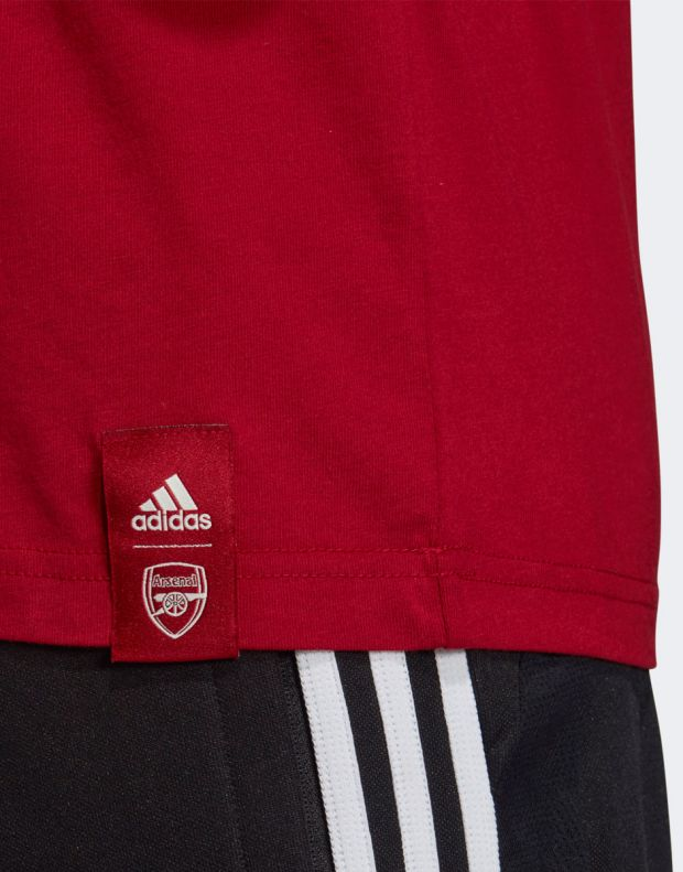 ADIDAS Arsenal DNA Graphic Tee Red - EH5621 - 7