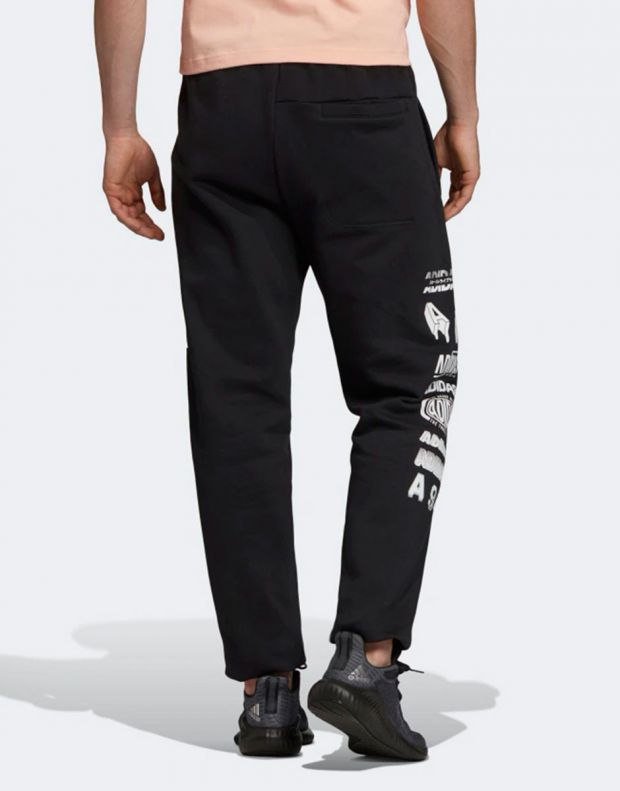 ADIDAS Athletics Pack Graphic Pants Black - EI6244 - 2