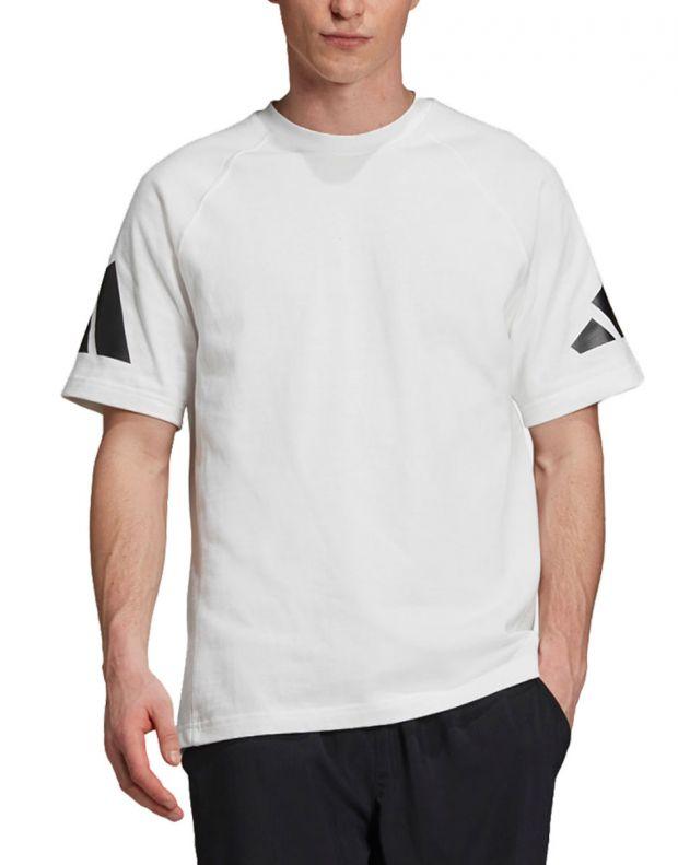 ADIDAS Athletics Pack Heavy Tee White - EB7618 - 1