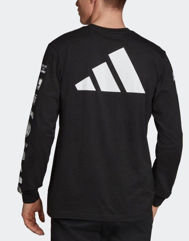 ADIDAS Athletics Pack Longsleeve T-Shirt Black - ED7254 - 2