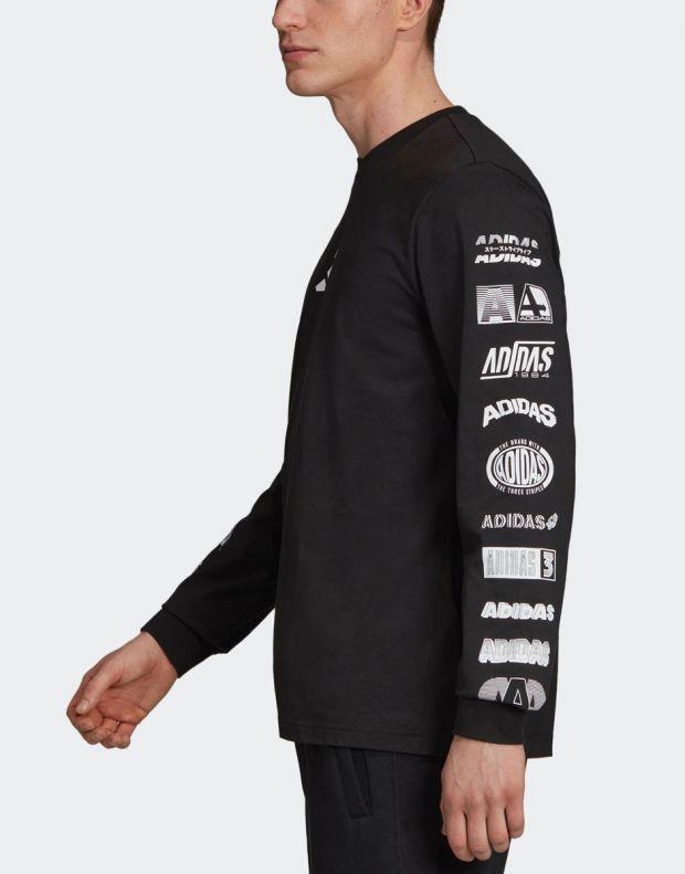 ADIDAS Athletics Pack Longsleeve T-Shirt Black - ED7254 - 3