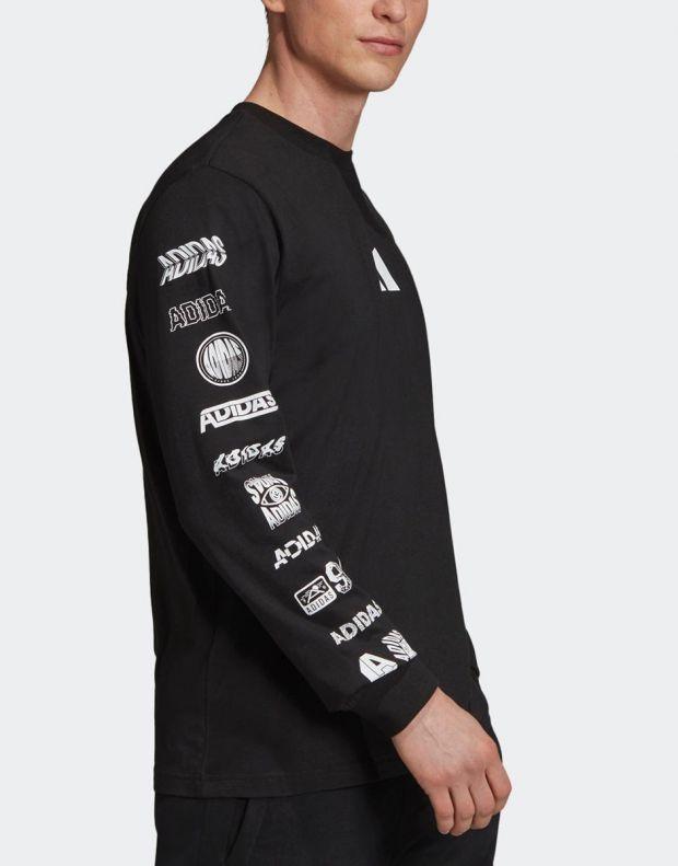 ADIDAS Athletics Pack Longsleeve T-Shirt Black - ED7254 - 4