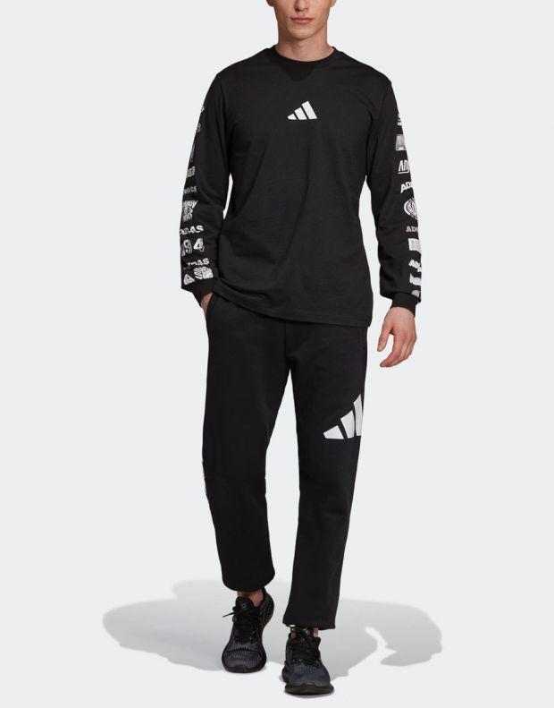 ADIDAS Athletics Pack Longsleeve T-Shirt Black - ED7254 - 8