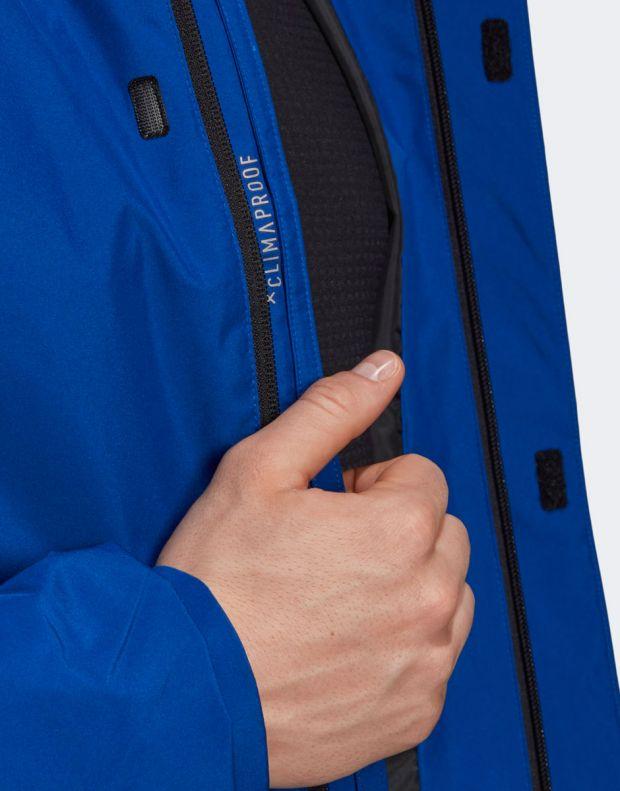 ADIDAS Terrex Ax Rain Jacket Blue - DZ5984 - 4