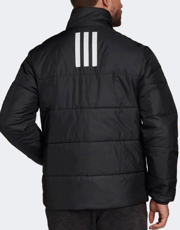 ADIDAS BSC 3-Stripes Insulated Winter Jacket Black - DZ1396 - 2