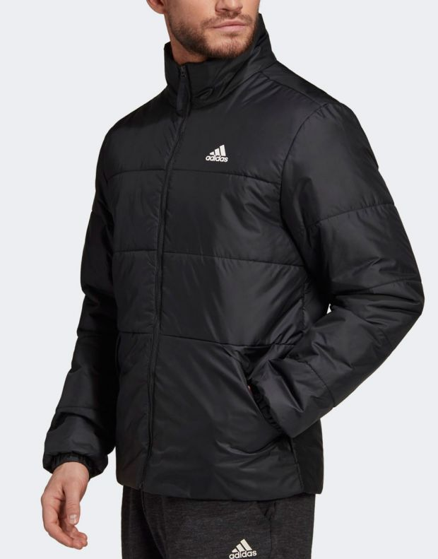 ADIDAS BSC 3-Stripes Insulated Winter Jacket Black - DZ1396 - 3