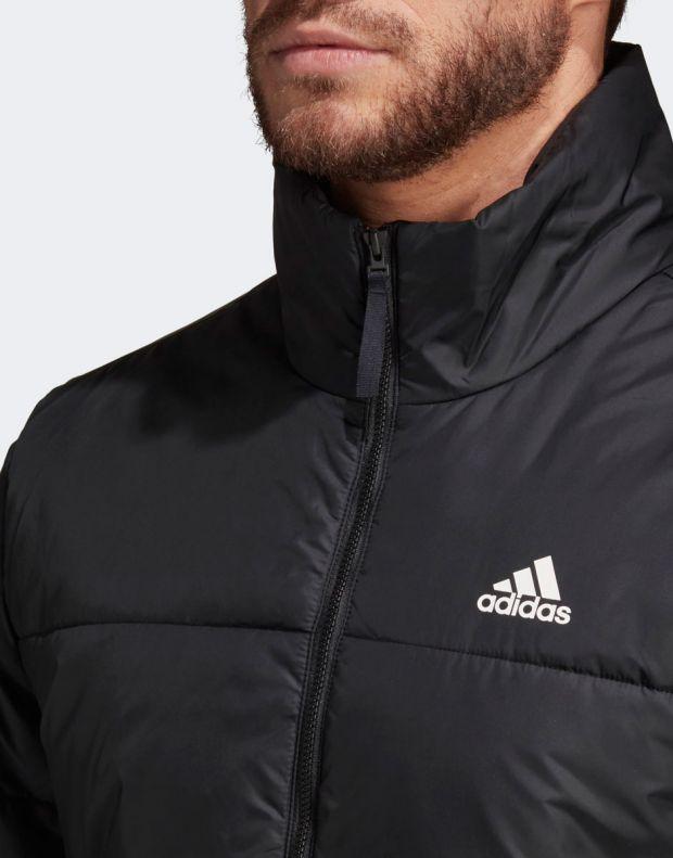 ADIDAS BSC 3-Stripes Insulated Winter Jacket Black - DZ1396 - 4