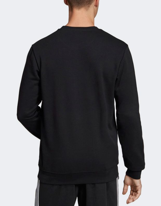 ADIDAS Branded Crew Sweatshirt Black - EI5617 - 2
