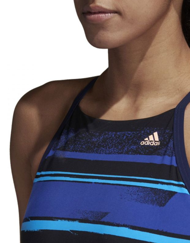 ADIDAS Bw Hltr Tp Ms Swimsuit Blue - DL8908 - 4