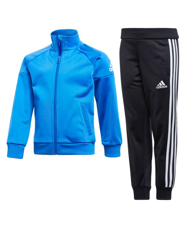 ADIDAS Classic Knitted Tracksuit Blue - CF6609 - 1