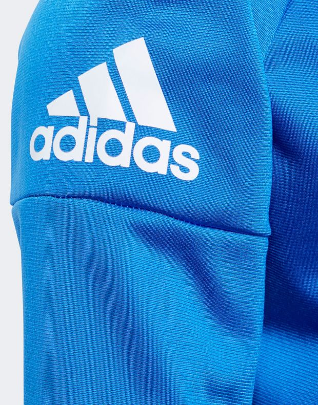 ADIDAS Classic Knitted Tracksuit Blue - CF6609 - 4