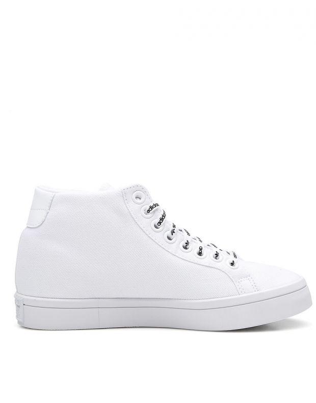 ADIDAS Courtvantage Heel Logo White - FU6820B - 2