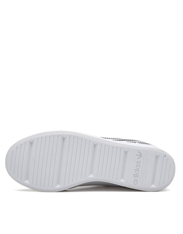ADIDAS Courtvantage Heel Logo White - FU6820B - 6