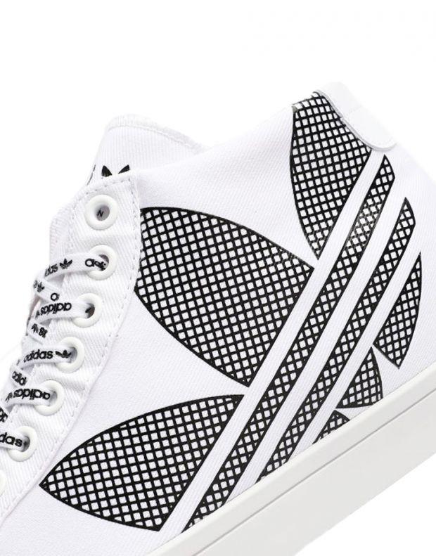 ADIDAS Courtvantage Heel Logo White - FU6820B - 7