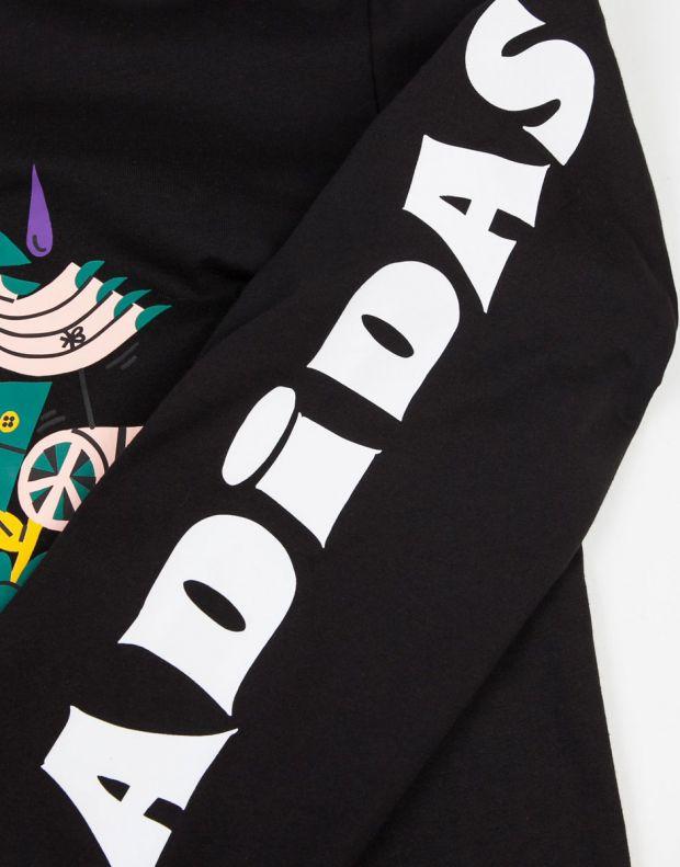 ADIDAS Eastham Longsleeve T-Shirt Black - DU8400 - 3