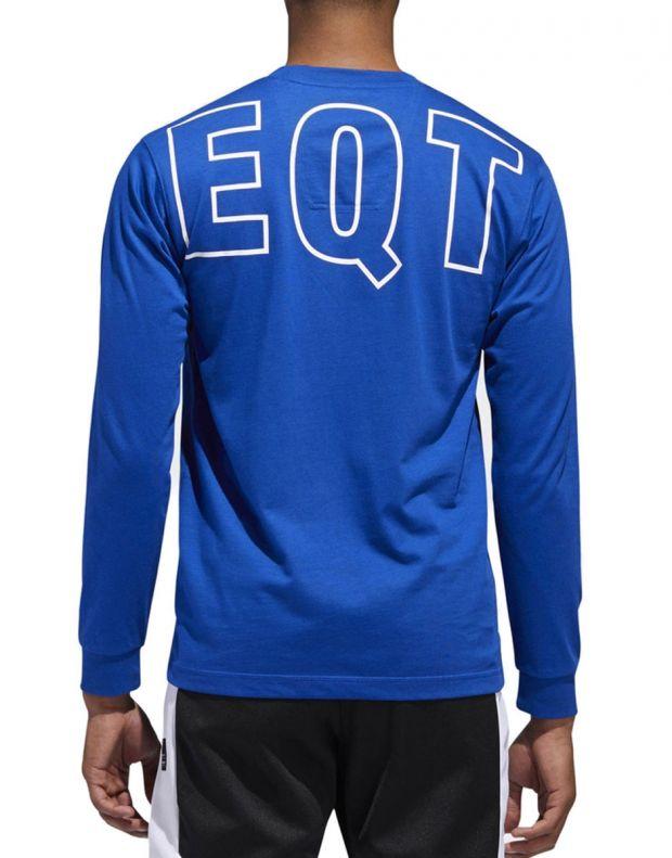 ADIDAS Eqt Long Sleeve T-Shirt Blue - DH5229 - 2
